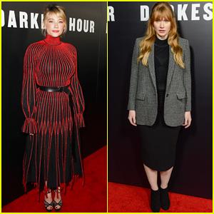Haley Bennett & Bryce Dallas Howard Step Out for 'Darkest Hour' Premiere!
