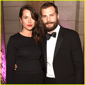 Jamie Dornan & Wife Amelia Warner Dress Up for Charity Dinner