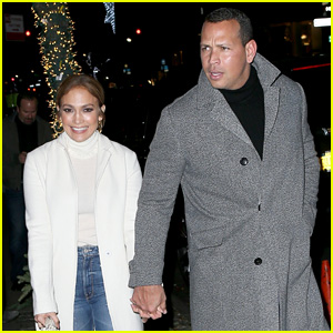 Jennifer Lopez & Alex Rodriguez Hold Hands on NYC Date Night