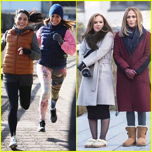 Jennifer López vuelve a Trabajar en 'Segunda Ley de' con Vanessa Hudgens & Leah Remini!