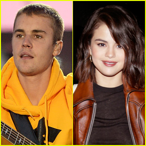 Justin Bieber & Selena Gomez Kiss at His Hockey Match!