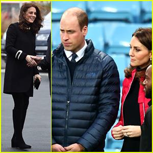 Kate Middleton & Prince William Make Appearances in Birmingham