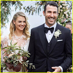 Kate Upton & Justin Verlander Share a Stunning Wedding Photo