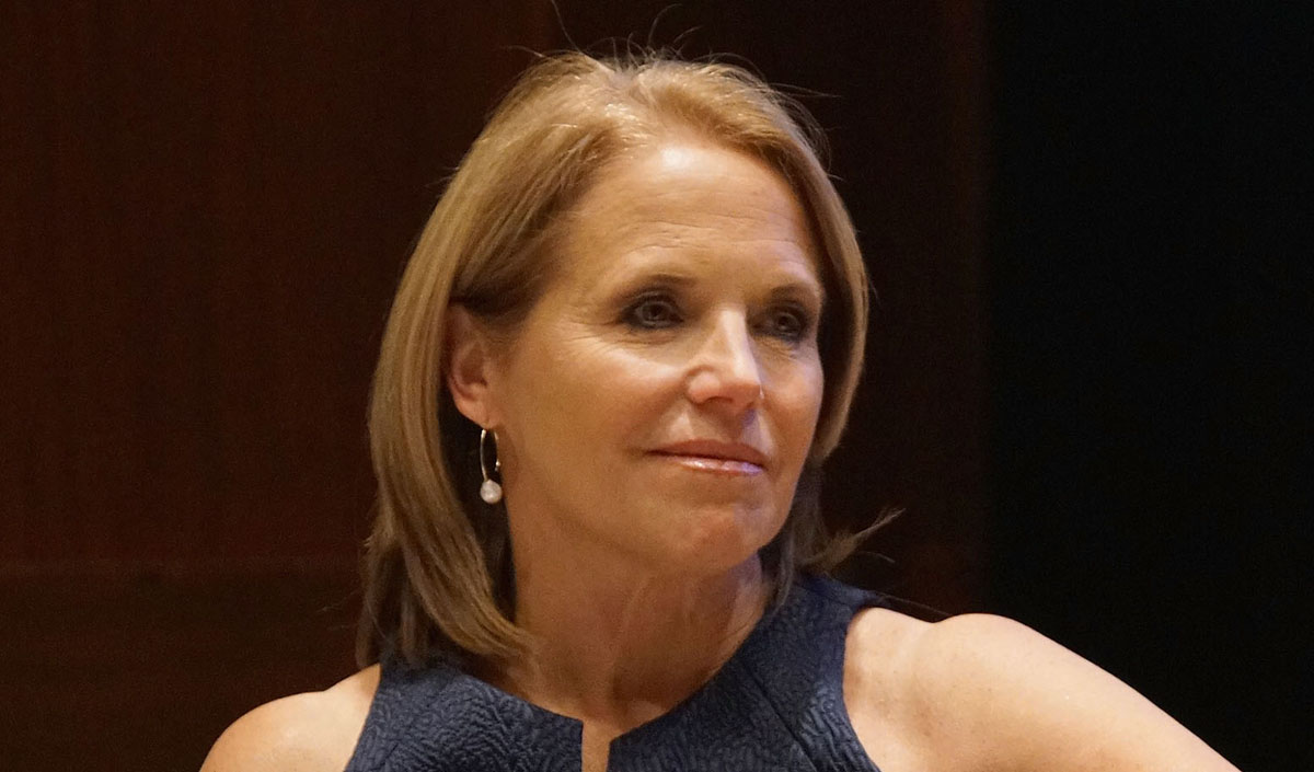 Katie couric is a milf advise you
