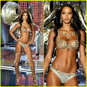 Lais Ribeiro Models Fantasy Bra at Victoria's Secret Fashion Show 2017
