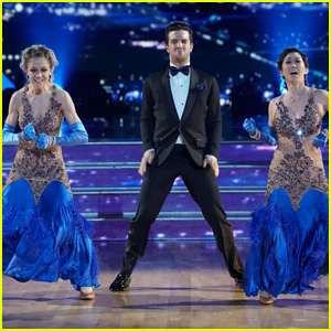 Lindsey Stirling & Kristi Yamaguchi Get Jazzy For 'DWTS' Trio Night - Watch Now!