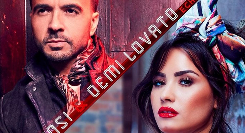 Demi Lovato Luis Fonsi Drop Echame La Culpa Music Video Watch Now Demi Lovato First Listen Luis Fonsi Music Music Video Just Jared