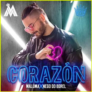 Maluma feat. Nego do Borel: 'Corazon' Stream, Lyrics & Download - Listen Now!