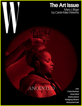 Mary J. Blige Is Anointed the Queen for 'W' Magazine's Art Issue
