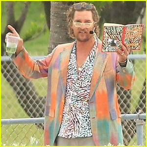 Matthew McConaughey Turns Into a 'Beach Bum' for New Movie