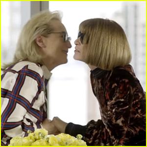 Meryl Streep Channels Miranda Preistley for Meeting with Anna Wintour (Video)