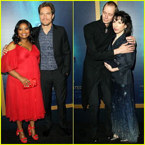 Michael Shannon & Octavia Spencer Celebrate 'The Shape Of Water' Premiere!