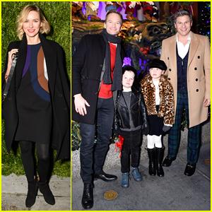 Neil Patrick Harris & David Burtka Make It A Family Affair at Saks Fifth Avenue Holiday Windows Celebration!