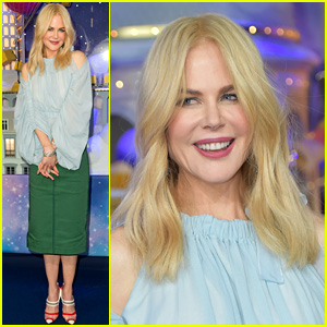 Nicole Kidman Gets Into the Holiday Spirit at an Event in Paris