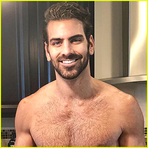 Nyle DiMarco Shares Hot Shirtless Photo Cooking Thanksgiving Dinner!