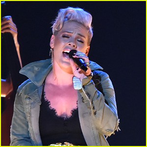 Pink Performs 'Barbies' at CMA