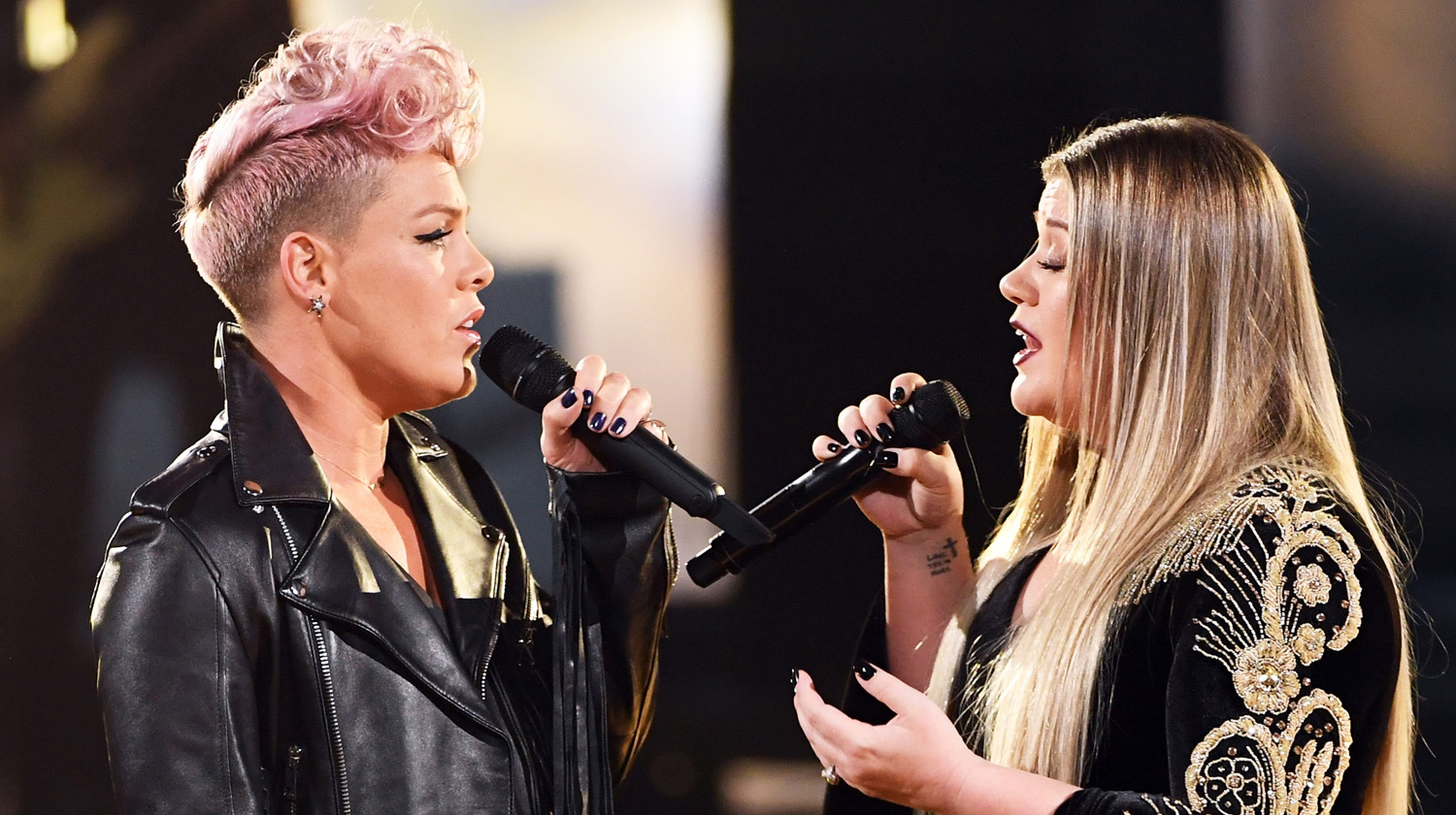 Pink & Kelly Clarkson's Opening Number at American Music Awards 2017 - Performance Details Revealed!
