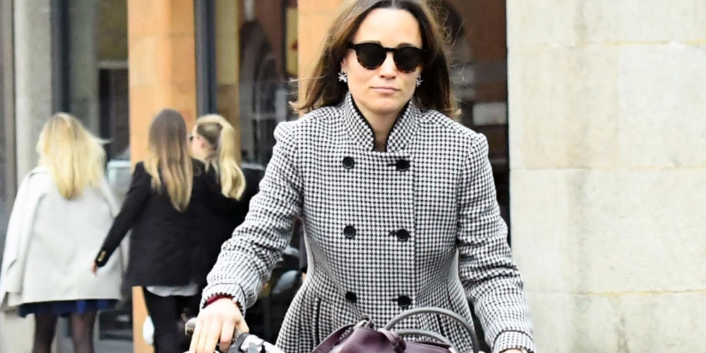Pippa Middleton Goes for a Bike Ride in the Chicest Floral Shirtdress forecasting