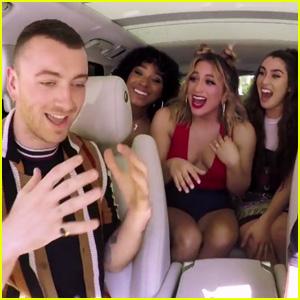 Fifth Harmony Surpises Sam Smith During Carpool Karaoke - Watch Now!