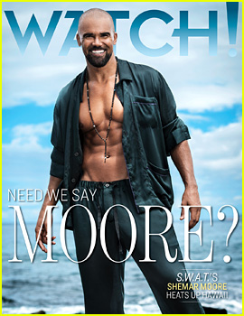 Shemar Moore Puts His Ripped Abs on Display for 'Watch!' Magazine