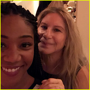 Tiffany Haddish Just Taught Barbra Streisand About Cardi B!