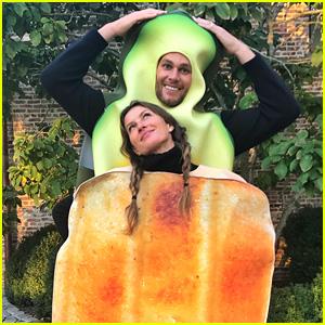 Tom Brady & Gisele Bundchen's Couples Halloween Costume Is So Cute!