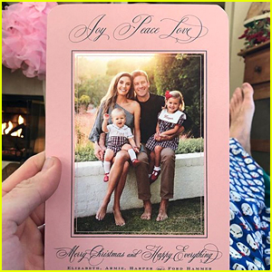 Armie Hammer & Elizabeth Chambers Share Family Christmas Card!