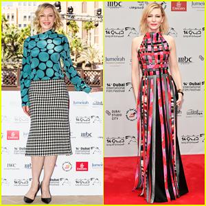 Cate Blanchett Helps Kick Off the Dubai International Film Festival 2017!