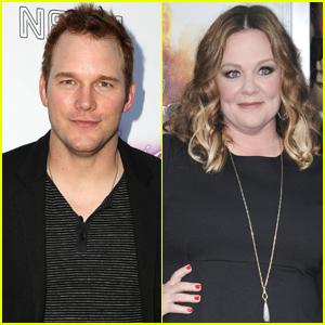 Chris Pratt & Melissa McCarthy Set to Guest Host 'Jimmy Kimmel Live'