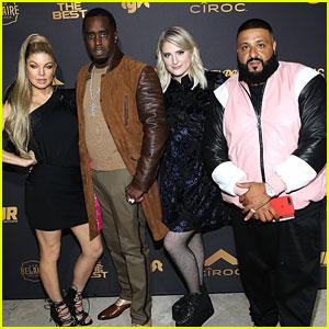DJ Khaled Celebrates Birthday With 'The Four' Cast