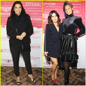 Eva Longoria & Alicia Keys Close Out Miami Art Basel at Art Maison Party!