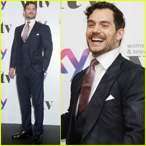 Henry Cavill Suits Up For Women in Film and TV Awards!