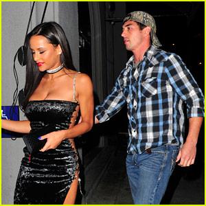 Big Brother's Jessica Graf Wears Sexy Dress for Dinner with Boyfriend Cody Nickson!