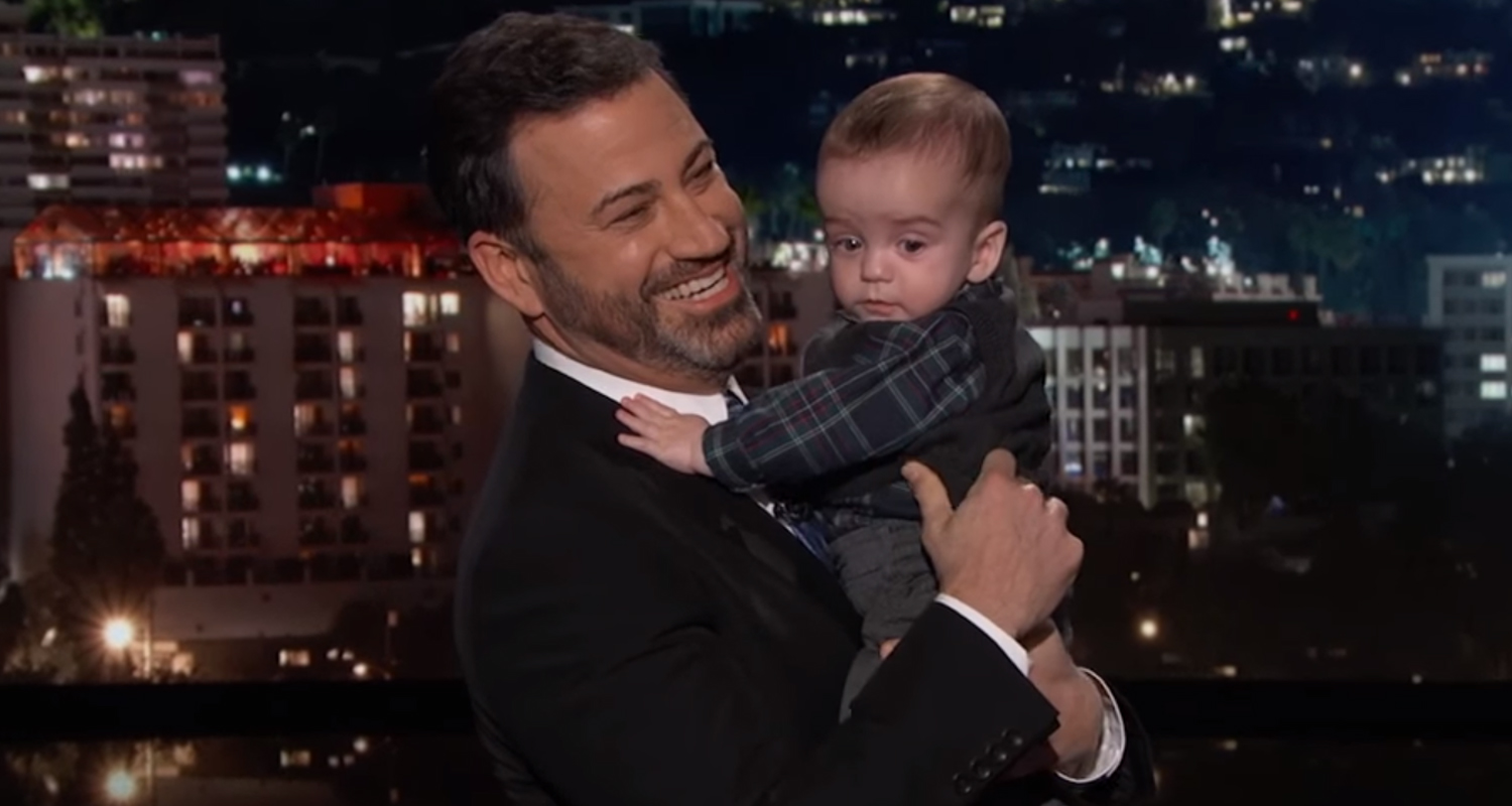 Jimmy Kimmel\'s Son Billy Makes First TV Appearance Following Heart ...