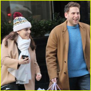 Jonah Hill & Sister Beanie Feldstein Get Some Holiday Shopping Done!