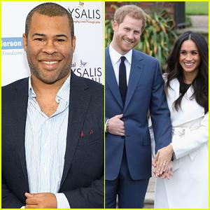 Jordan Peele Tweets 'Get Out' Joke About Meghan Markle & Prince Harry
