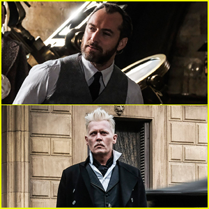 Jude Law & Johnny Depp Featured In New 'Fantastic Beasts: The Crimes of Grindelwald' Images!