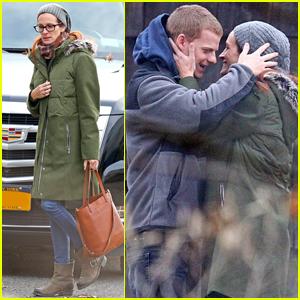 Julia Roberts & Lucas Hedges Kick Off Filming on 'Ben Is Back'