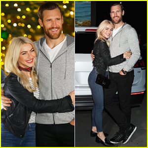 Julianne Hough & Hubby Brooks Laich Couple Up at Volkswagen Holiday Drive-In!