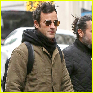 Justin Theroux Bundles Up for Afternoon Outing in NYC