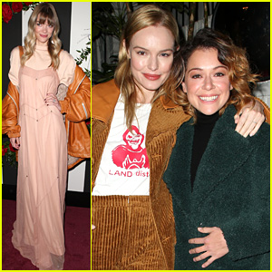 Kate Bosworth & Tatiana Maslany Support the Launch of Land of Distraction