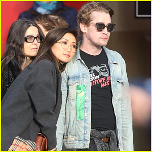 Macaulay Culkin & Brenda Song Cuddle Up & Kiss in New Paris Photos!