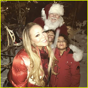 Mariah Carey Celebrates Christmas in Aspen with Her Kids!