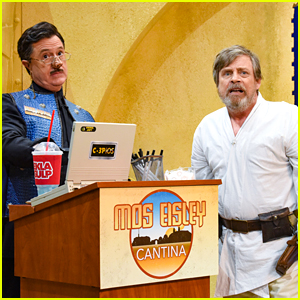 Mark Hamill Shares Lost 'Star Wars' Footage with Stephen Colbert - Watch Now!