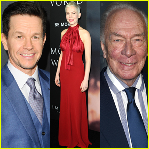 Michelle Williams Joins Mark Wahlberg & Christopher Plummer at 'All the Money in the World' Premiere