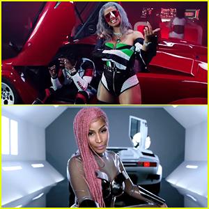 Migos, Cardi B & Nicki Minaj Team Up in 'MotorSport' Music Video - Watch Here!