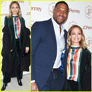 Nicole Richie & Michael Strahan Team Up To Host JC Penny's Jacques Penne Boutique Opening!