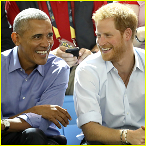 Prince Harry Asks Barack Obama If He Likes 'Suits' or 'The Good Wife' Better