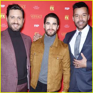 Ricky Martin, Edgar Ramirez & Darren Criss Premiere 'Assassination of Gianni Versace'