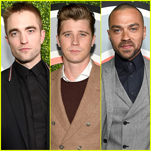 Robert Pattinson, Garrett Hedlund, & Jesse Williams Suit Up for GQ's Men of the Year Party